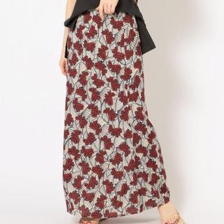 シップス(SHIPS)のシップス☆マーメイドシルエットスカート 38(ロングスカート)