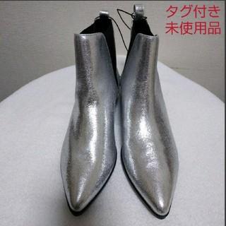 ジーユー(GU)の【タグ付き未使用】GU サイドゴアブーツ(ブーツ)