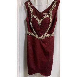 アンディ(Andy)のキャバドレス 赤ドレス(ミニドレス)