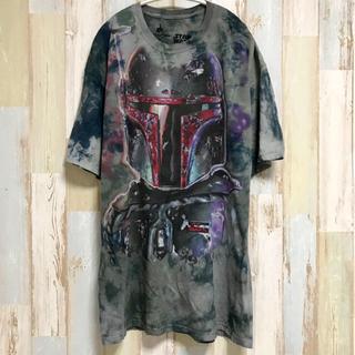 ディズニー(Disney)のボバフェット アメリカ古着 スターウォーズ STAR WARS 映画(Tシャツ/カットソー(半袖/袖なし))