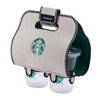 スターバックスコーヒー(Starbucks Coffee)の【新品】スタバ台湾限定 スターバックス ドリンクホルダー ダブル(収納/キッチン雑貨)