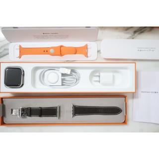 エルメス(Hermes)のHERMES アップルウォッチ series4 44ミリ(腕時計(デジタル))