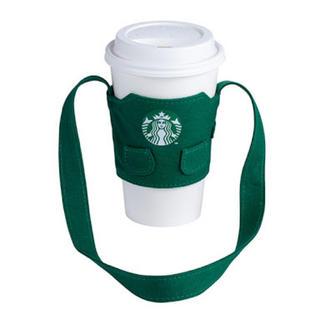 スターバックスコーヒー(Starbucks Coffee)の【新品】台湾スタバ限定 ドリンクホルダー エプロンタイプ(収納/キッチン雑貨)