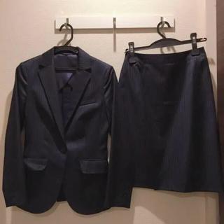 THE SUIT COMPANY - ネイビー 紺 上下 スカートスーツ