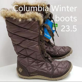 【新品】コロンビア ブーツ 23.5 WATERPROOF