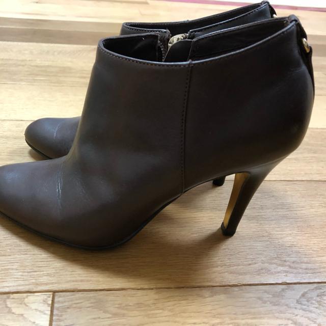 Odette e Odile(オデットエオディール)のパリ購入 MINELLI ブラウン ブーティ  レディースの靴/シューズ(ブーティ)の商品写真