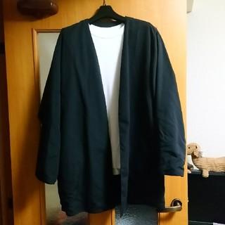 ムジルシリョウヒン(MUJI (無印良品))のムジラボ MUJI LABO 無印良品 ロングジャケット 美品(ノーカラージャケット)