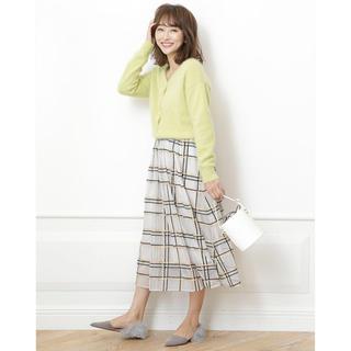Rirandture - カラフルチェック刺繍スカート