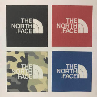 THE NORTH FACE - THE NORTH FACE ワッペン 大4枚