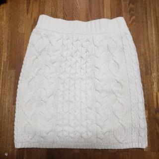 スカート ニット 美品