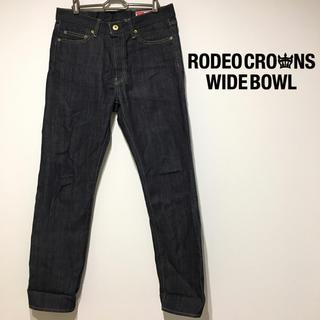 RODEO CROWNS WIDE BOWL - ロデオクラウンズ 新品 ストレートデニム