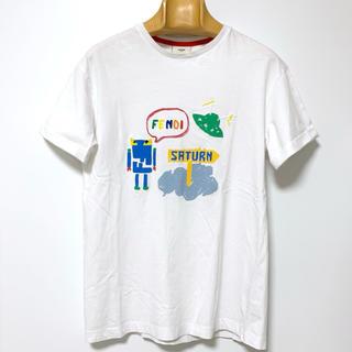 【正規品】FENDI 半袖プリントTシャツ