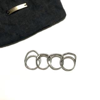 IOSSELLIANI - IOSSELLIANI 4連 パズルリング イオッセリアーニ シルバー 指輪