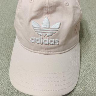 adidas - adidas キャップ ピンク