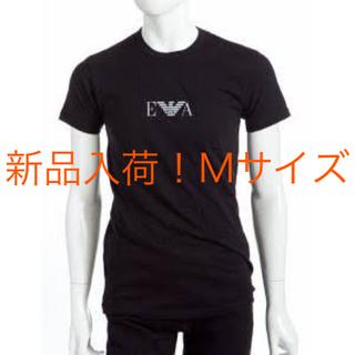 Emporio Armani - 新品入荷!EMPORIO ARMANI ロゴTシャツ M 黒