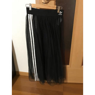 アディダス(adidas)のアディダス adidas Originals チュールスカート プリーツスカート(ロングスカート)