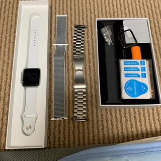 アップルウォッチ(Apple Watch)のApple Watch Series 3  42mm+バンド2本(腕時計(デジタル))
