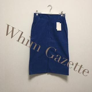 ドゥーズィエムクラス(DEUXIEME CLASSE)の【新品】Whim Gazette 36スカート(ひざ丈スカート)
