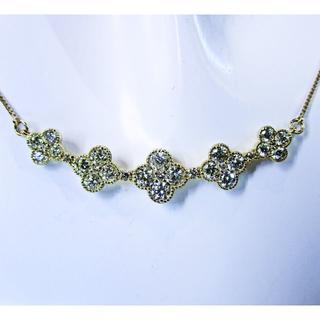 るみたん様専用※豪華天然ダイヤモンド1.00ctデザインネックレス(ネックレス)