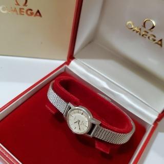 オメガ(OMEGA)のOMEGA オメガ デヴィル デビル レディース 手巻き(腕時計)