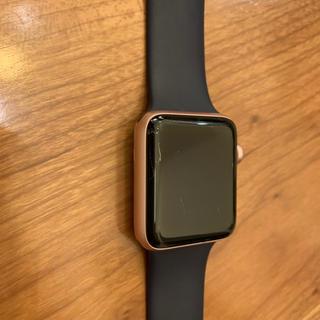 アップルウォッチ(Apple Watch)のApple Watch series2 42mm ピンクゴールド(腕時計(デジタル))