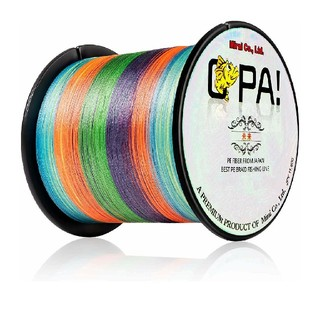 OPA PEライン 4編 釣り糸 高強度 高感度 高飛距離 1号 500m  (釣り糸/ライン)