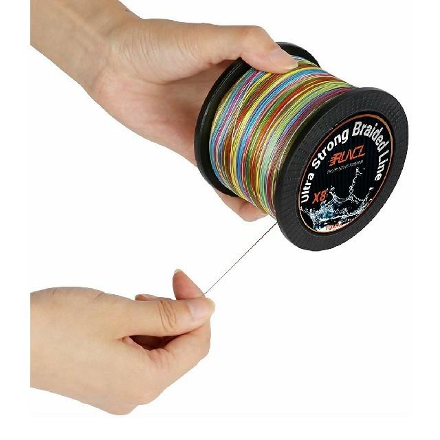 ランケル(RUNCL)高強度 PEライン 釣り糸 8編 5色 1号 500m  スポーツ/アウトドアのフィッシング(釣り糸/ライン)の商品写真
