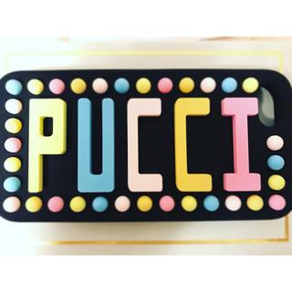 エミリオプッチ(EMILIO PUCCI)のエミリオプッチEMILIO PUCCI iPhone7ケース iPhoneカバー(iPhoneケース)