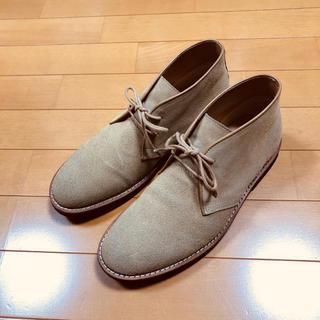 スエード  靴(ローファー/革靴)