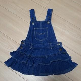 ベビーギャップ(babyGAP)のジャンパースカート  80cm(スカート)