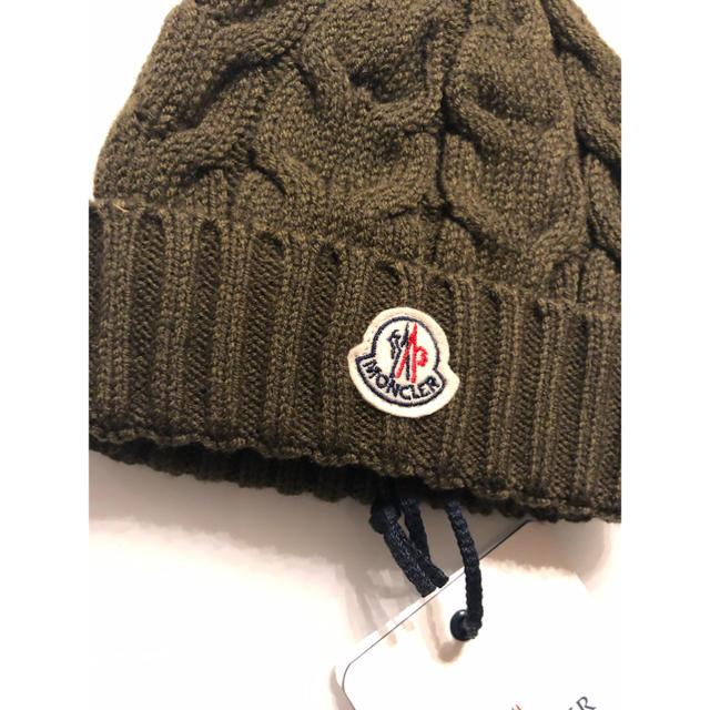 MONCLER(モンクレール)のモンクレール MONCLER キッズ ニット帽子 キッズ/ベビー/マタニティのこども用ファッション小物(帽子)の商品写真