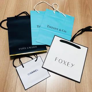 フォクシー(FOXEY)のブランドバッグ各種(ショップ袋)