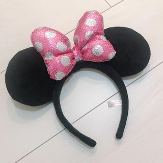 ディズニー(Disney)のディズニー カチューシャ ミニーちゃん(カチューシャ)