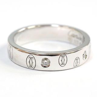 カルティエ(Cartier)の正規品 Cartier カルティエ ハッピーバースデー 5Pダイヤ(リング(指輪))