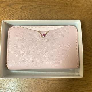 ヨンドシー(4℃)のルリア4℃  折り財布 ピンク(財布)