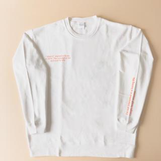 シンプルデザイン!オーバーサイズ!➡︎lettering sweatshirt(トレーナー/スウェット)