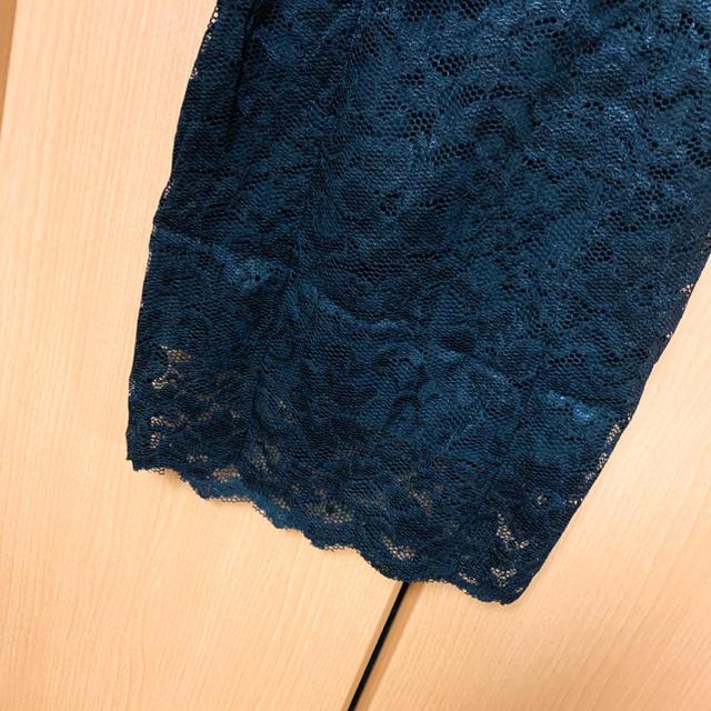 Andy(アンディ)のパールレースチューブトップドレス レディースのフォーマル/ドレス(ミニドレス)の商品写真