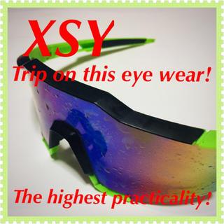 ❇️【XSY】快適性たる最高峰☆‼️スポーツサングラス‼️(ウエア)