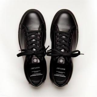 ステュディオス(STUDIOUS)のFOOTSTOCK ORIGINALS スニーカー 黒 27cm BOOTLEG(スニーカー)