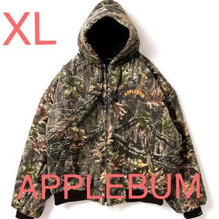 アップルバム(APPLEBUM)のAPPLEBUM リアルツリーカモ ボンバージャケット XL(ミリタリージャケット)