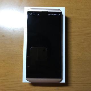 LG Electronics - (極美品A)SIMロック解除済み au isai beat LGV34 Gold