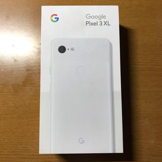 アンドロイド(ANDROID)の(極美品A)Google Pixel 3 XL 128GB White(スマートフォン本体)