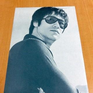 【稀少チラシ】ありし日のブルース・リー【最後の一枚】(印刷物)