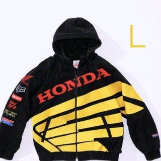 シュプリーム(Supreme)のsupreme  Honda Fox Racing PuffyJacket(ライダースジャケット)