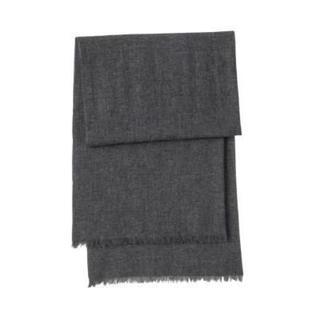 ムジルシリョウヒン(MUJI (無印良品))の新品   無印良品  カシミヤ平織りストール (ストール/パシュミナ)