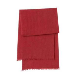 新品   無印良品  カシミヤ平織りストール
