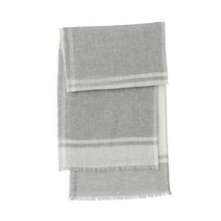 ムジルシリョウヒン(MUJI (無印良品))の新品   無印良品  カシミヤ平織りストール(柄)(ストール/パシュミナ)