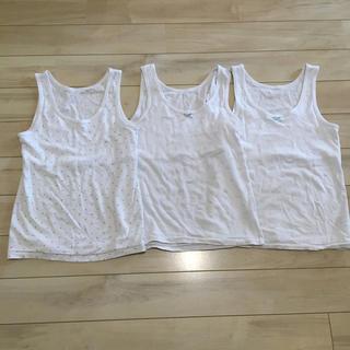 しまむら - 女児 150 胸二重 シャツ タンクトップ 3枚セット