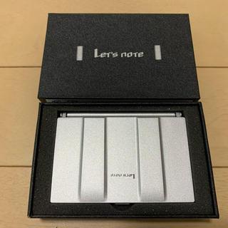 パナソニック(Panasonic)のレッツノート 名刺入 非売品 新品未使用 送料無料 (名刺入れ/定期入れ)
