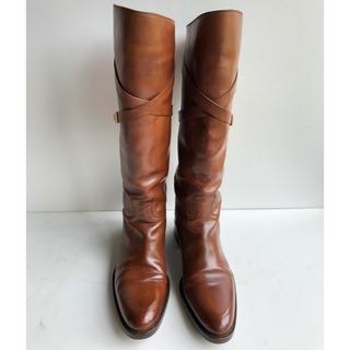 サルトル(SARTORE)の37 SARTORE サルトル ロングブーツ  ブラウン  24(ブーツ)